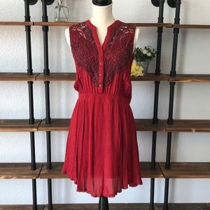 Miss Me | Sleeveless | Red | Euc | Large